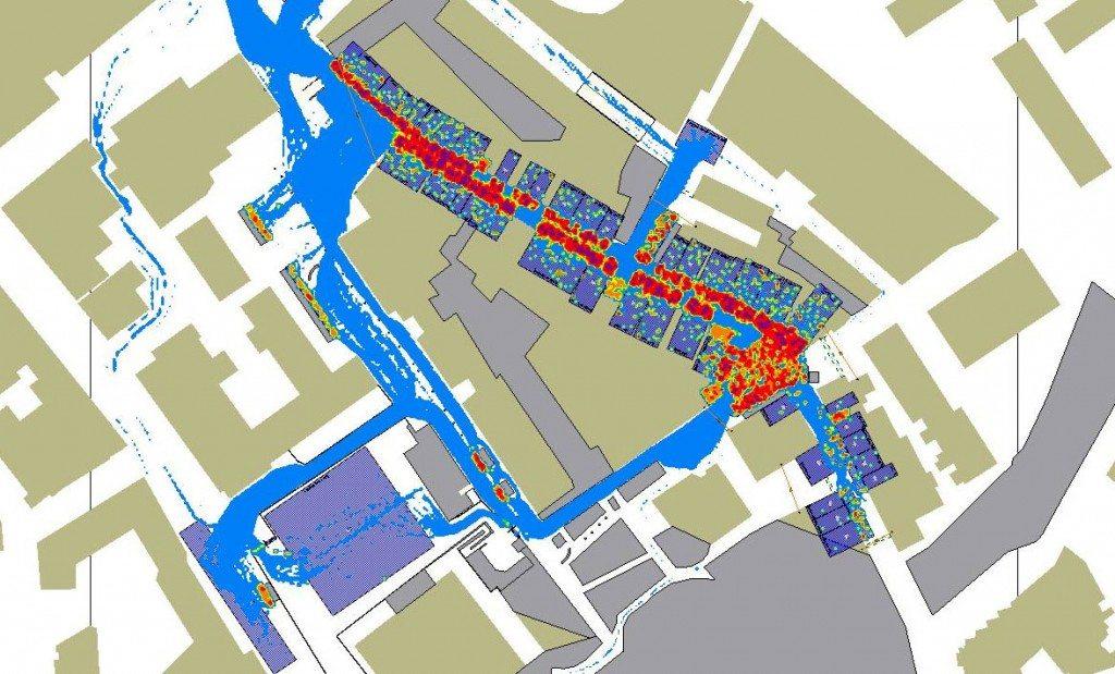 Drukverdeling deel binnenstad tijdens Koninginnedag 2013
