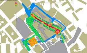 Bezoekersintensiteitsanalyse van het Stratumseind en Stadhuisplein Eindhoven tijdens de crowd management planning en scenariovorming van Koningsdag 2013