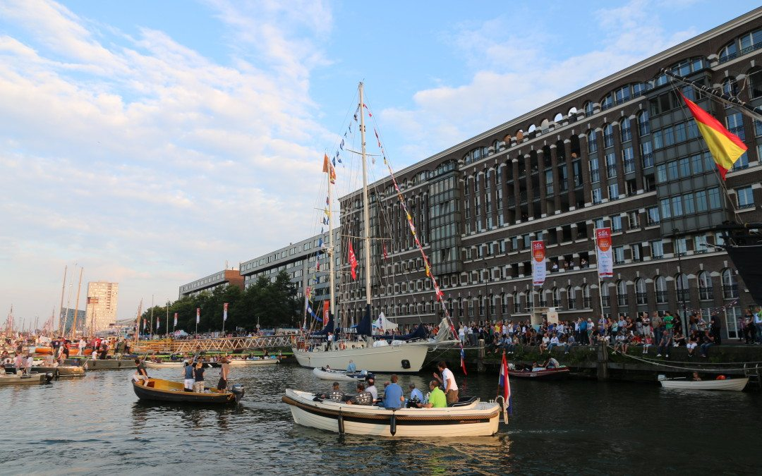 CrowdProfessionals in the media with crowd management for Sail 2015