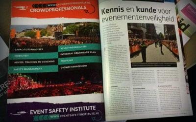 Kennis en kunde voor evenementenveiligheid
