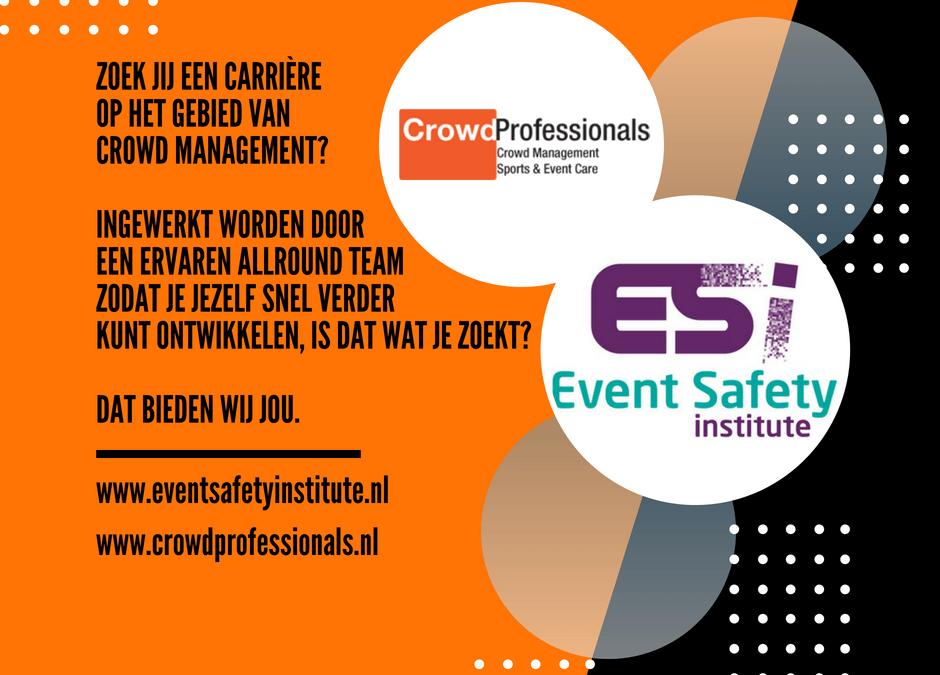 Zoek jij een carrière op het gebied van crowd management?
