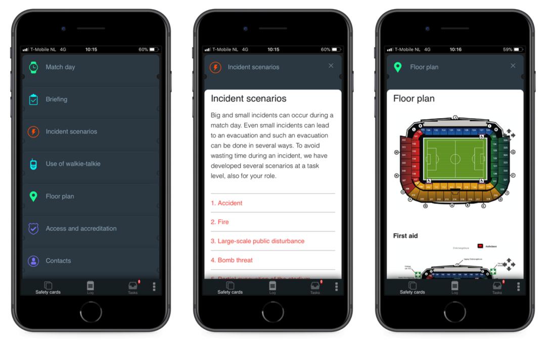 CrowdProfessionals biedt met software-applicatie meer grip op het veilig verloop van evenementen