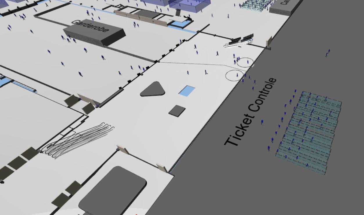Momentopname simulatie musea